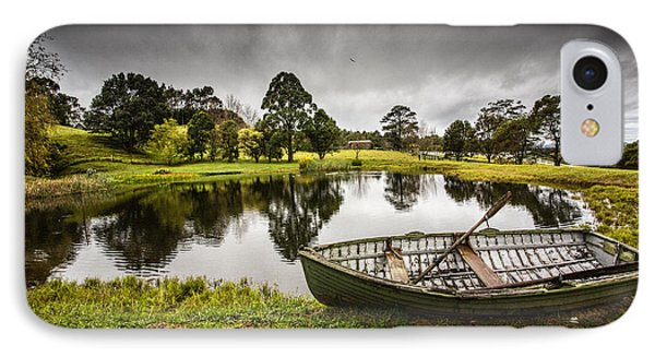 Messing About In A Boat Phone Case by Avalon Fine Art Photography