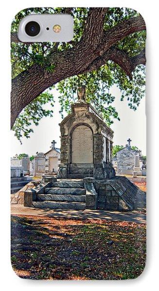 Metairie Cemetery Phone Case by Steve Harrington