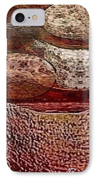 Metal Art Rocks IPhone Case by Ray Tapajna