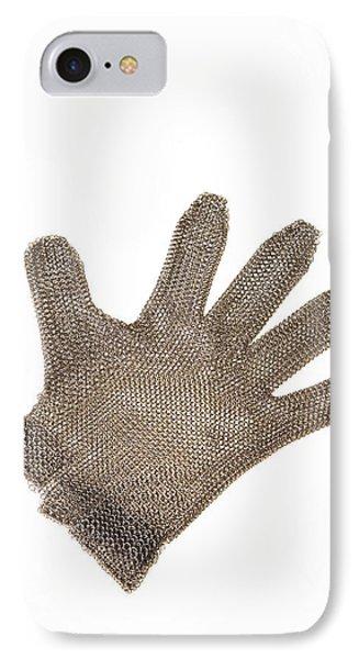 Metal Mesh Glove Phone Case by Cristina Pedrazzini