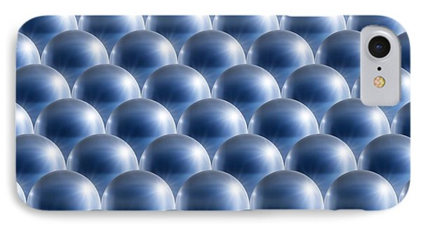 Metal Spheres, Abstract Artwork IPhone Case by Detlev Van Ravenswaay
