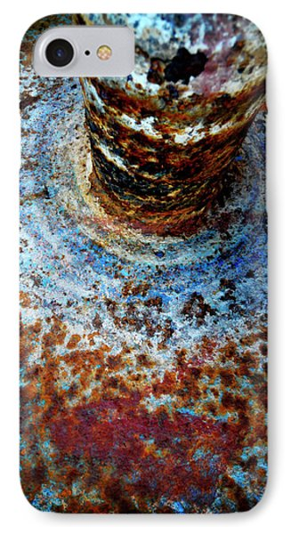 IPhone Case featuring the photograph Metallic Fluid by Pedro Cardona