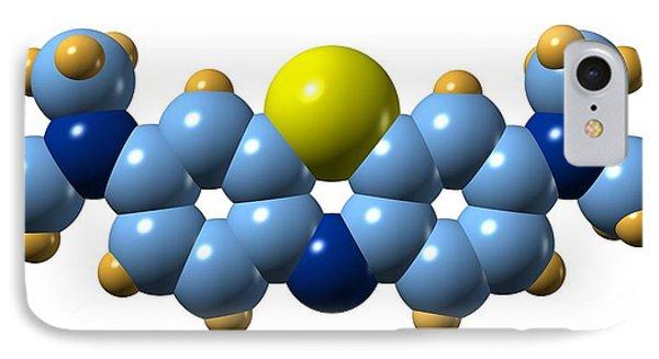 Methylene Blue, Molecular Model Phone Case by Dr Mark J. Winter