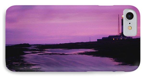 Mew Island, Belfast Lough, County Down IPhone Case by Richard Cummins