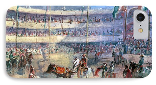 Mexico: Bullfight, 1833 Phone Case by Granger