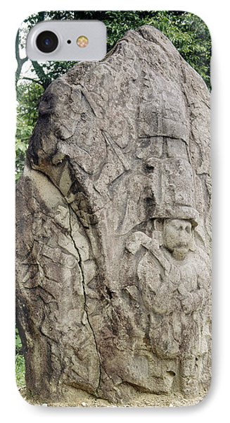 Mexico: Olmec Monument IPhone Case by Granger