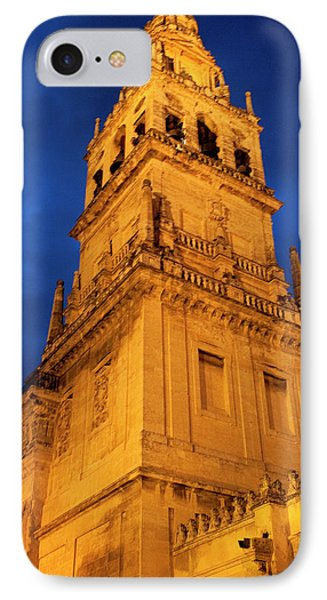 IPhone Case featuring the photograph Mezquita Tower by Lorraine Devon Wilke