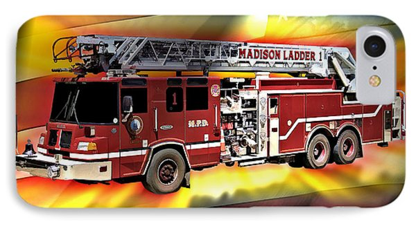 Mfd Ladder Co 1 Phone Case by Tommy Anderson