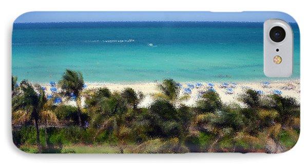 Miami Beach Phone Case by Pravine Chester