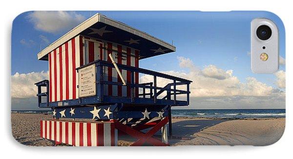 Miami Beach Watchtower Phone Case by Melanie Viola