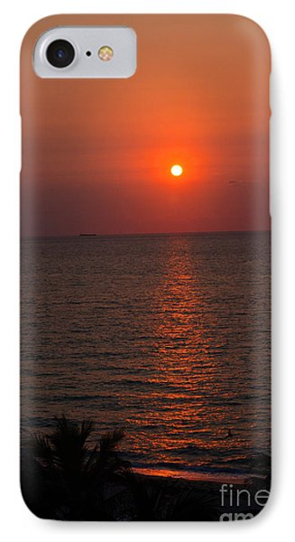 IPhone Case featuring the photograph Miami Sunrise by Pravine Chester