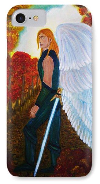 Michael - Michael Archangel Series By Yesi Casanova IPhone Case