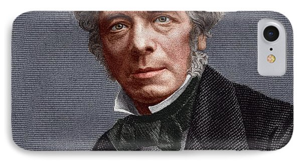 Michael Faraday, English Chemist Phone Case by Sheila Terry