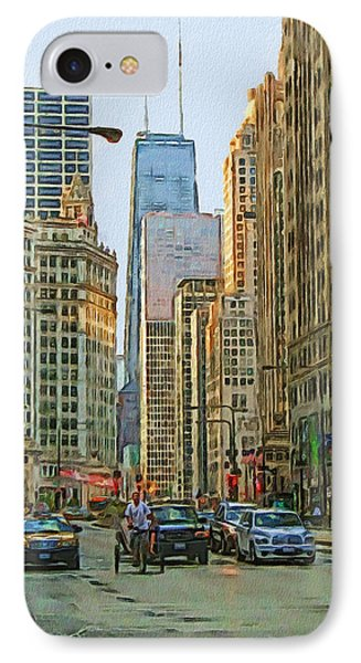 Michigan Avenue IPhone Case by Vladimir Rayzman