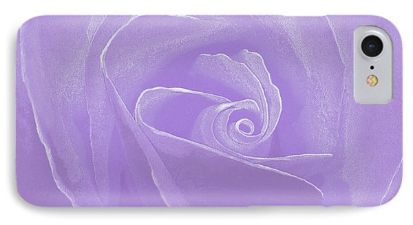 IPhone Case featuring the photograph Micro Lavender Rose by Cindy Lee Longhini