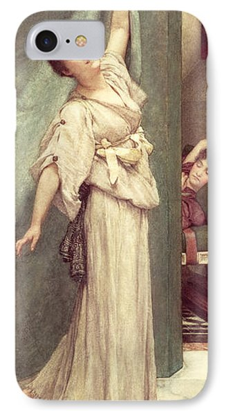 Midday Slumbers  IPhone Case by Sir Lawrence Alma-Tadema