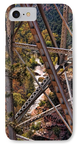 Midgley Bridge Oak Creek Canyon IPhone Case