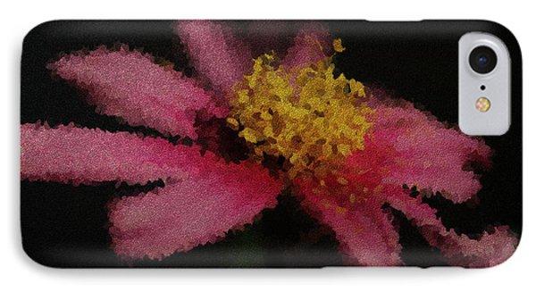 Midnight Bloom IPhone Case by Lauren Radke