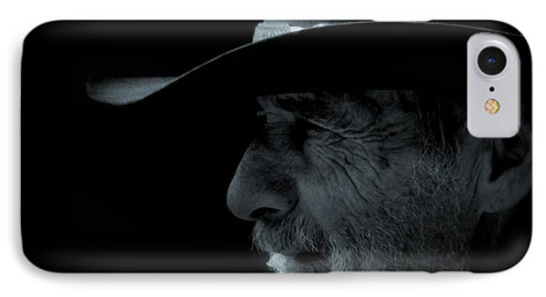 Midnight Cowboy Phone Case by Christine Till