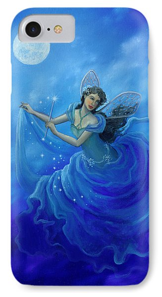 Midnight Fairy Phone Case by BK Lusk