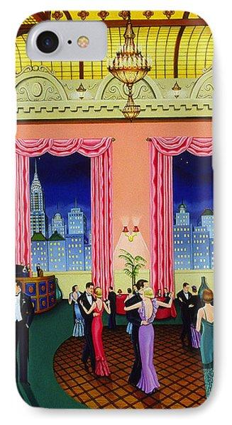 Midnight In Manhattan IPhone Case by Tracy Dennison