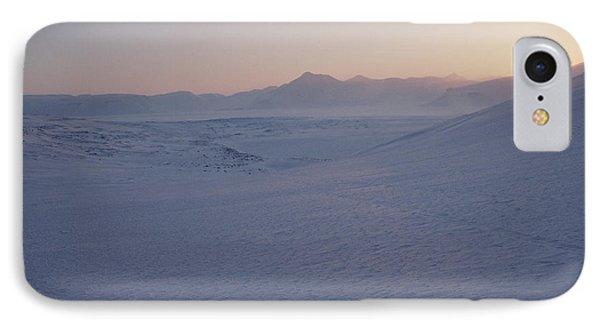 Midnight Sun Hovers Above Polar Phone Case by Gordon Wiltsie