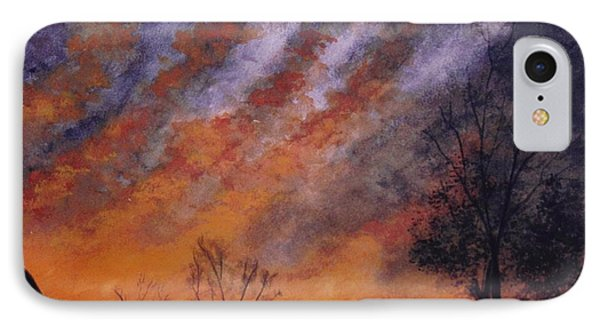 Midwest Sunset IPhone Case by Stacy C Bottoms