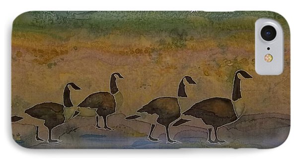 Migration Series Geese 2 IPhone Case