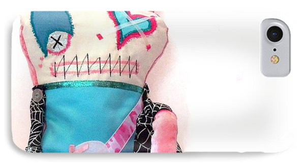 Mika The Original Party Monster Zombie Phone Case by Oddball Art Co by Lizzy Love
