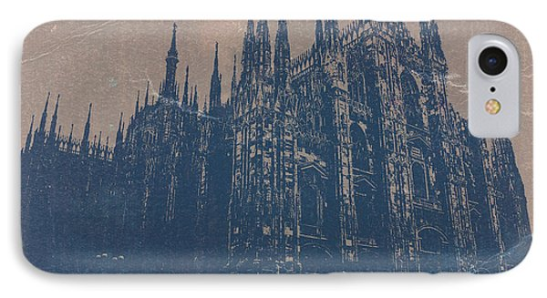 Milan Cathedral Phone Case by Naxart Studio