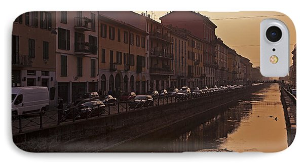 Milan Naviglio Grande Phone Case by Joana Kruse