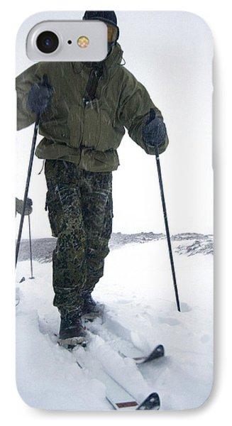 Military Arctic Survival Training IPhone Case