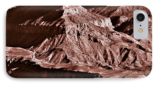 Milk Chocolate Mountains Phone Case by Bob and Nadine Johnston