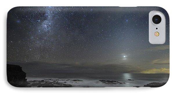 Milky Way Over Cape Schanck, Australia Phone Case by Alex Cherney, Terrastro.com