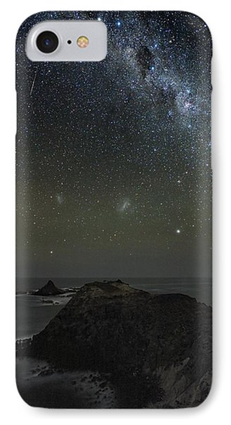 Milky Way Over Phillip Island, Australia Phone Case by Alex Cherney, Terrastro.com