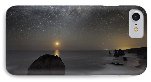 Milky Way Over Shipwreck Coast Phone Case by Alex Cherney, Terrastro.com