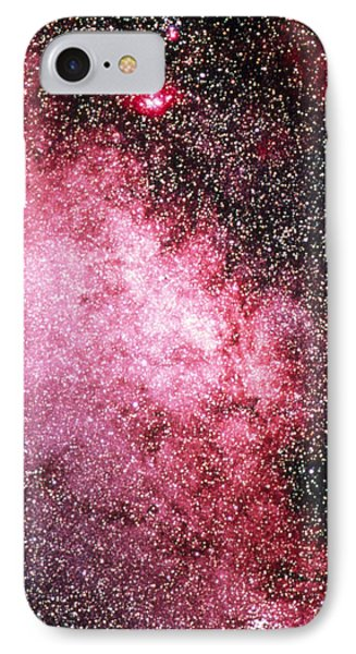 Milky Way Starfield Phone Case by Dr Juerg Alean