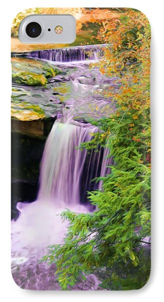Mill Creek Waterfall IPhone Case by Michelle Joseph-Long