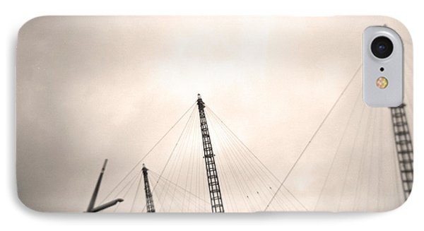 IPhone Case featuring the photograph Millenium Dome Spires by Lenny Carter