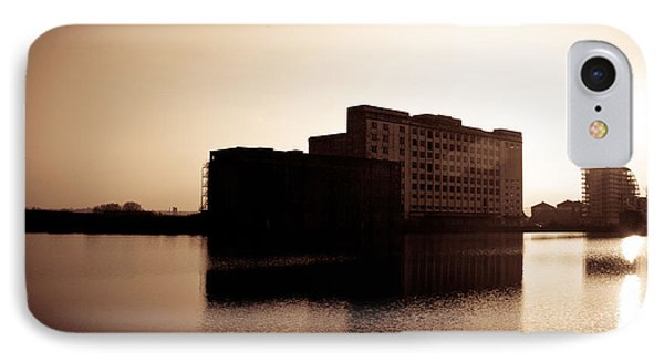 Millenium Mills Warehouse Phone Case by Lenny Carter