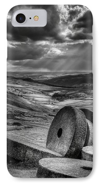 Millstones On The Moor Phone Case by Andy Astbury