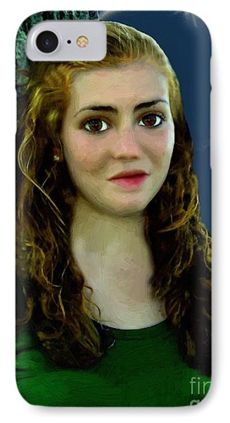 Mina By Moonlight Phone Case by RC DeWinter