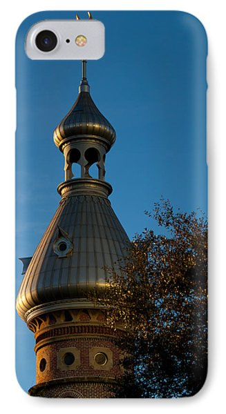 IPhone Case featuring the photograph Minaret And Trees by Ed Gleichman