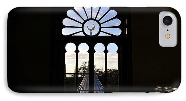 Minaret Through Window Phone Case by David Lee Thompson