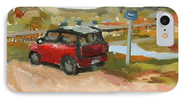 Mini On The Cape Phone Case by William Noonan