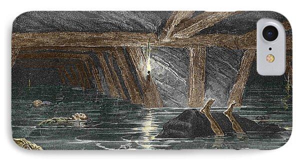 Mining Disaster, 19th Century IPhone Case