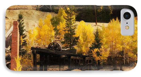 IPhone Case featuring the photograph Mining Town by Angelique Olin