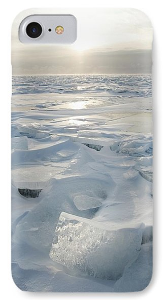 Minnesota, United States Of America Ice IPhone Case by Susan Dykstra