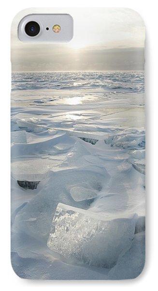 Minnesota, United States Of America Ice IPhone Case