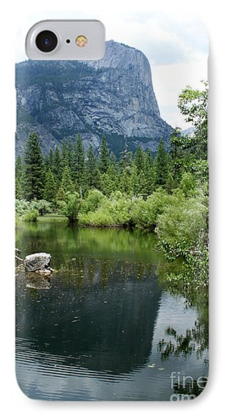 Mirror Lake IPhone Case by Henrik Lehnerer